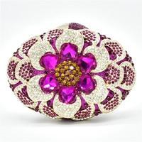 Women Formal Dinner Handbag Wedding Bridal Luxury Handbags Women Bags Design Bridal Clutches Elegant Party High Quality Metal