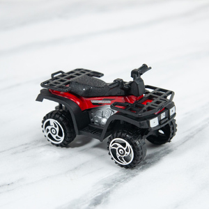 Image 4 - Kids Diecasts Vehicle Mini Motorcycle Utility Vehicle Alloy Simulation Beach Motorcycle Sliding Car Model Toys for Children Boys