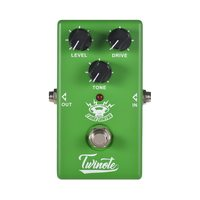 Twinote TUBE DRIVE Guitar Effect Pedal Analog Overdrive Guitar Pedal Accessories Processsor Full Metal Shell with True Bypass