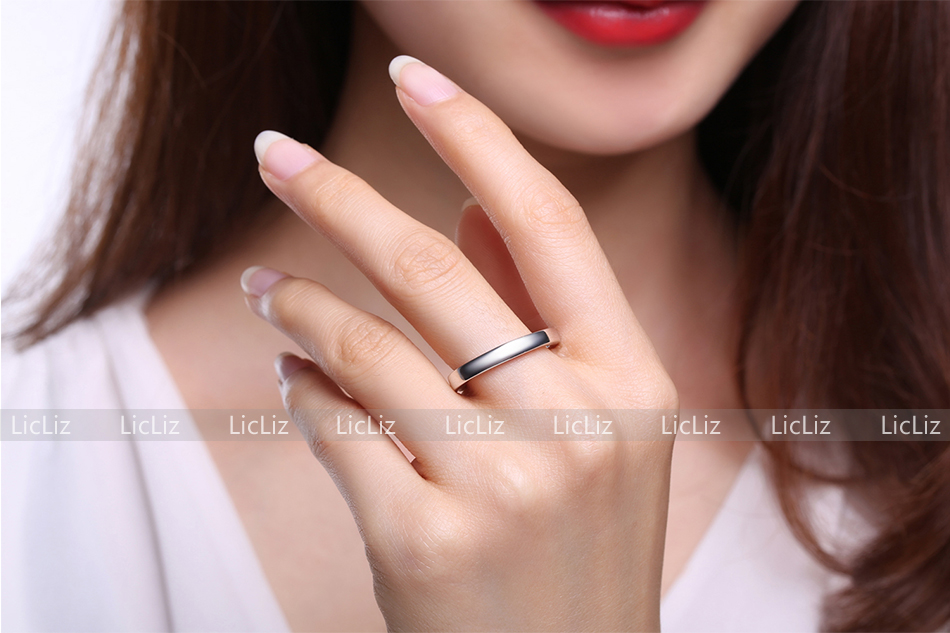 Hbd1e0a57209c45e9a29f7682a7c2dbb5Q LicLiz 2019 925 Sterling Silver Big Open Adjustable Ring for Women Men Plain White Gold Jewelry Joyas de Plata 925 Bijoux LR0329