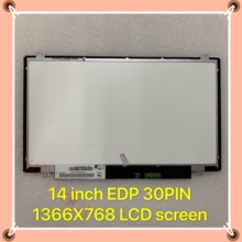 "Original 14 ""Slim EDP 30PIN 1366X768 NT140WHM-N41 N31 LP140WH8 TPC1 LP140WHU TPD1 TPE1 N140BGE-EA3 E33 Laptop Lcd display Bildschirm"