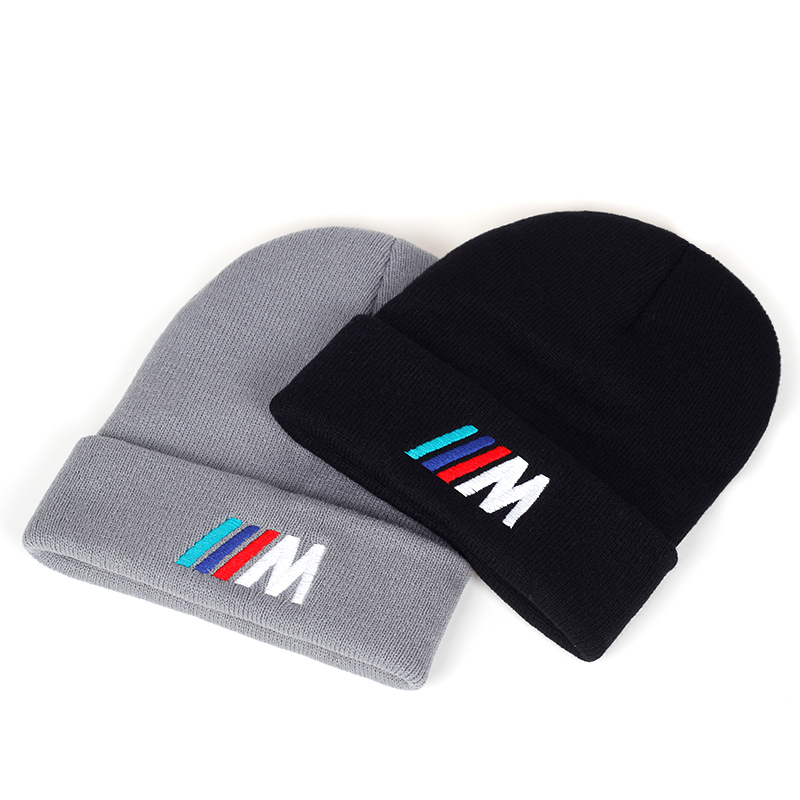 2019 New Letter Embroidery Wool Hat Fashion Unisex Warm Hats Autumn And Winter Outdoor Wild Cap Hip Hop Casual Sports Caps