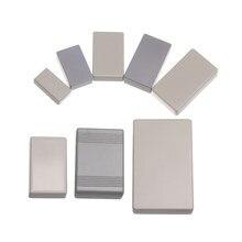 2 szt wodoodporny biały/szary DIY obudowa obudowa oprzyrządowania ABS plastikowe elektroniczne pudełko projektowe futerał do przechowywania obudowy pudełka dostaw