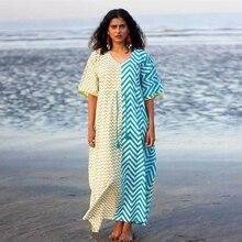Dress Pakistan-Clothing India Holiday Cotton Women Vacation Casual Boho Ethnic-Style