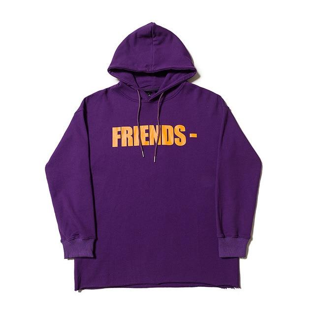 VLON Friends Streetwear Purple Hoodie 1