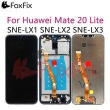 """FoxFix 6.3 """"pour Huawei Mate 20 Lite LCD écran tactile numériseur avec cadre pour Huawei Mate 20 Lite SNE LX1 daffichage LX2 LX3"""