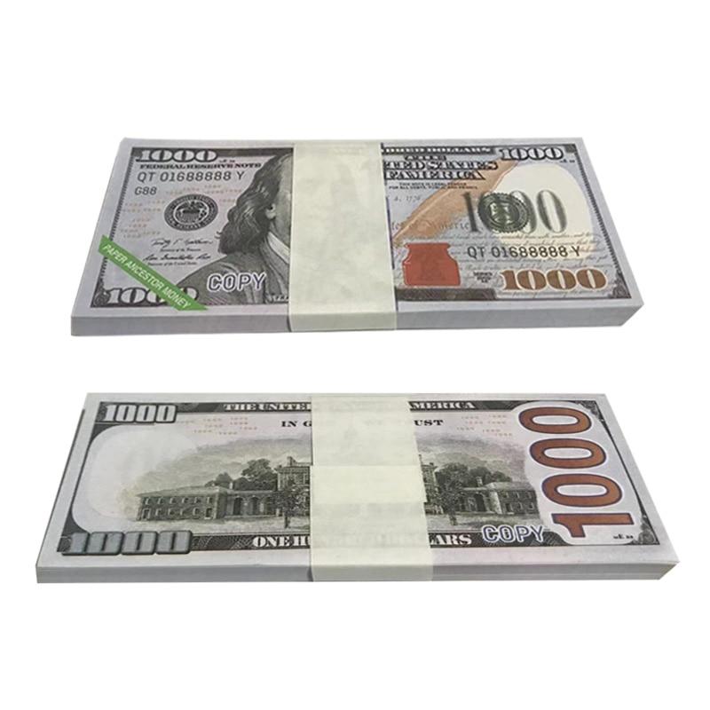 Vorfahren Opfer Geld Himmel Hölle Bank Notizen Dollar USD Joss Papier Geist Geld Papier Geld Ehren Vorfahren