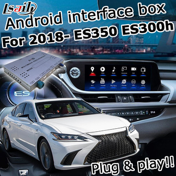 Android / carplay interface box for Lexus ES300h ES350 ES250 ES 2018- touchpad control video interface lsailt image