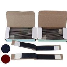 200 листов/коробка бумага для соприкосновения зубов синие полоски