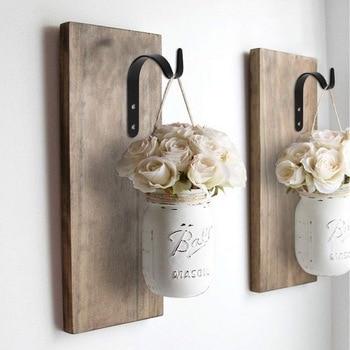 Ganchos decorativos de hierro para pared soporte de suspensión de planta para comederos de aves jardineras soportes de linternas decoración de gancho para interiores al aire libre