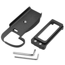 Varejo removível liberação rápida l suporte de placa aperto de mão titular para canon eos 5d mark iv 5d4 dslr câmera digital trabalho com arca
