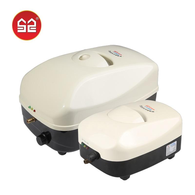 Sensen fabricants vente directe AC/DC double usage pompe à oxygène réservoir de poissons Aquarium jiahe yang ji pompe élever les poissons yt-series