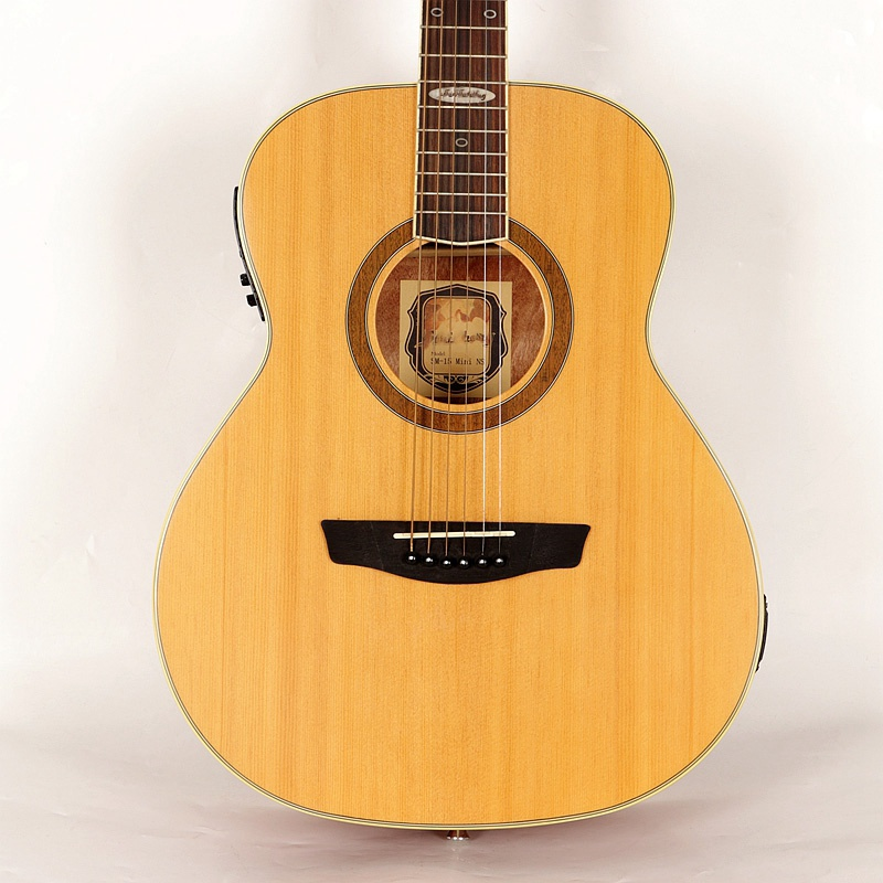 <font><b>36</b></font> inch acoustic electric <font><b>guitar</b></font> natural color 6 string acoustic <font><b>guitar</b></font> full size folk <font><b>guitar</b></font> with EQ for beginners kids image