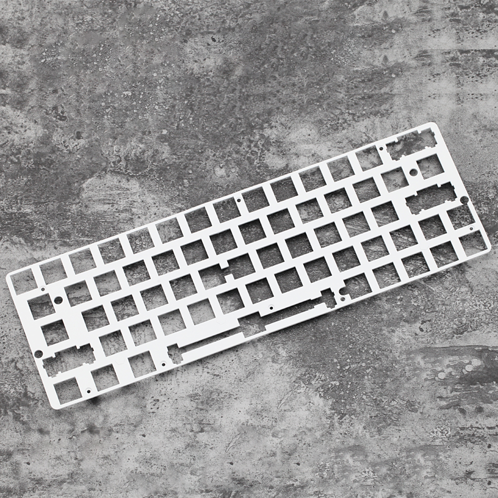 60% Aluminum Mechanical Keyboard Plate Support  Gk64 Gk64s Xd64 Xd60 White Color Only Support Plate Mount Stabilizer