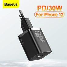 """Baseus פ""""ד 30W USB סוג C מטען מהיר תשלום QC 3.0 USB C מהיר טעינה עבור iPhone 12 פרו iPad Macbook אוויר סמסונג Xiaomi USBC"""