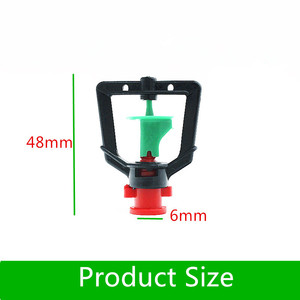 """Image 3 - 200pcs Greenhouse Gardening Rotary Atomization Sprinkler With 1/4"""" Barbed Irrigation Equipment Automatic Watering Microsprinkler"""