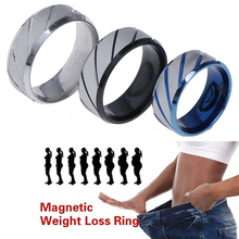 Fitness Reduce Weight Ring Fashion Magnetic Medical Anti Cel