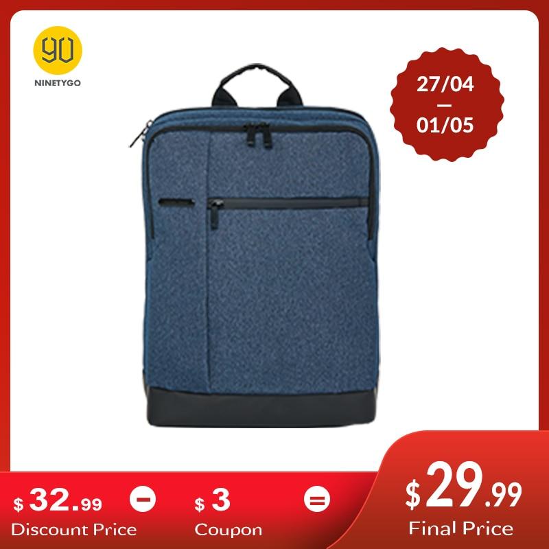 NINETYGO 90FUN Classic Business Backpack Big Capacity for 15inch Laptop Bag Daypack School Travel Men Women Boy Girl