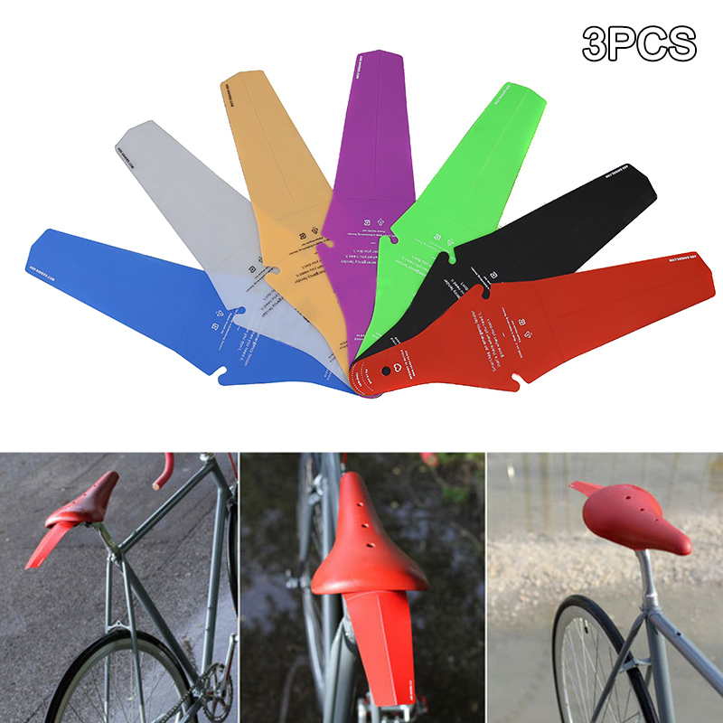 Lightweight Wings Mountain Cycling Bike Accessories Rear Fenders Saddle Savers!