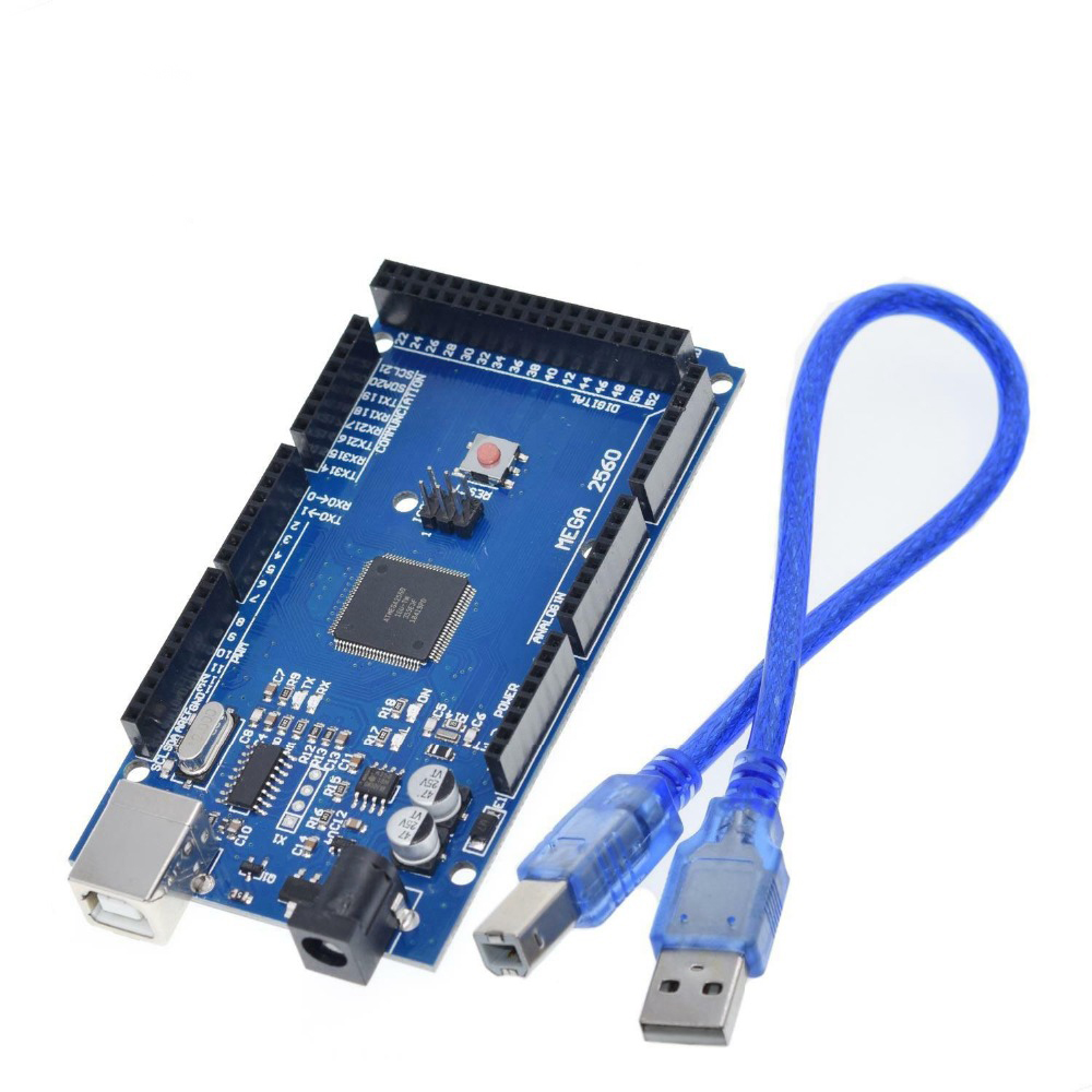 Mega 2560 R3 Mega2560 REV3 (ATmega2560-16AU CH340G) Board ON USB Cable Compatible For Arduino