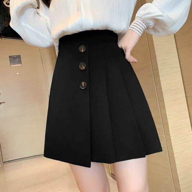 2020  pink skirt  white pleated skirt  white skirt  skater skirt 2