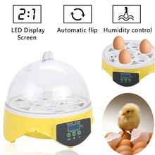 1 pcs 10 eggs manual incubator mini incubator for chicken duck goose quail birds Eggs Capacity Incubator For Egg Broedmachine Chicken Duck Quail Birds Egg Hatcher Electronic Incubator Tools