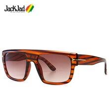 JackJad 2020 Fashion ALESSIO Style Square Shield Sunglasses