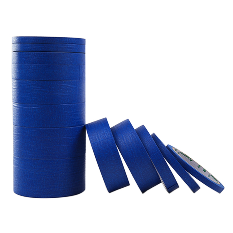 2019 New Blue Painter Tape Paper Adhesive House Painting Peeling Peel Tape Easy To Tear Masking Tape 30 Meters