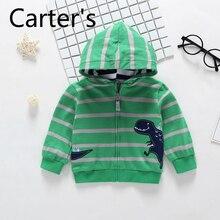 Baby Sweater Carter's Hooded Jacket Sudaderas-De-Bebe Autumn Children's Long-Sleeved