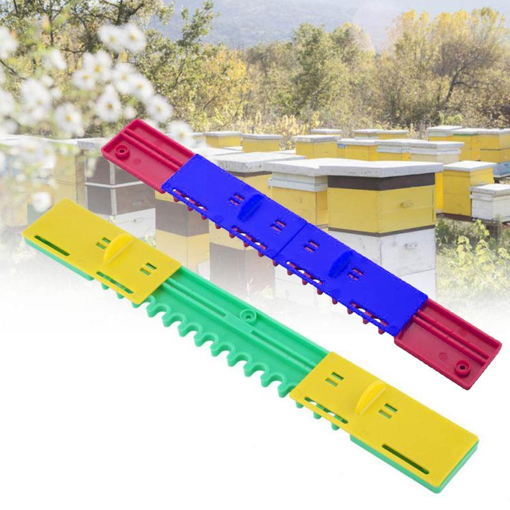 1pcs New Plastic Bee Hive Sliding Mouse Guards/Travel Gate Equipment Beekeeping Tool Breeding Tool Beehive Durable