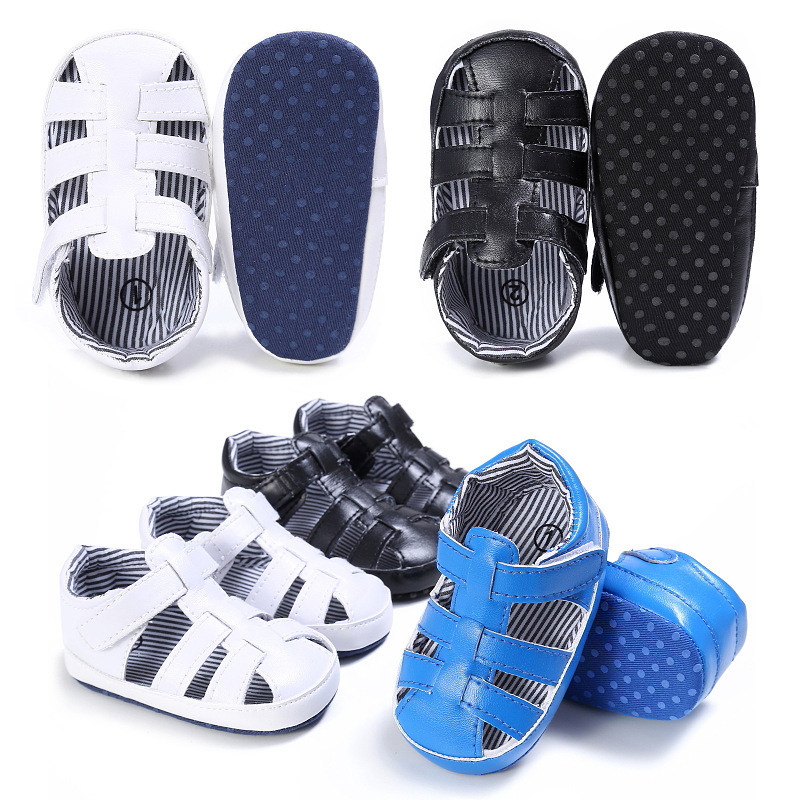 Baby Shoes Summer Girls Sandals For Girls Shoes Fashion Newborn Cool Sandals Beach Solid Princess Soft Sole Anti-slip Shoes