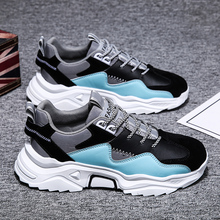 2020 New Breathable Leather Sneakers Men Casual Sho