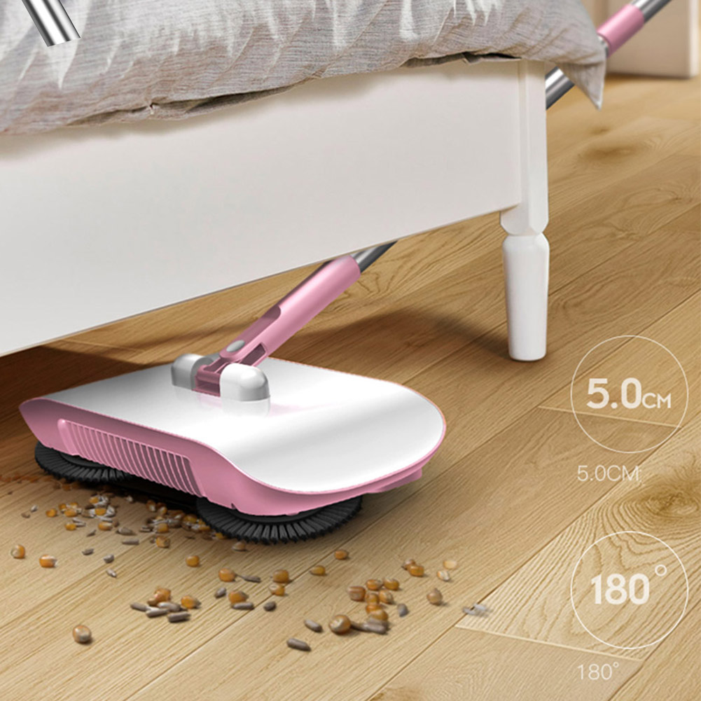 Cleaning-Tool Sweeper Broom No-Electric Household Hand-Push Magic-Rotate Automatic