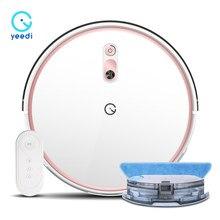 Yeedi k700 Roboter Staubsauger mit Vslam Navigation Wischen Kehr 2in1 2000Pa Leistungsstarke für Harte Boden Teppich Hause Reinigung