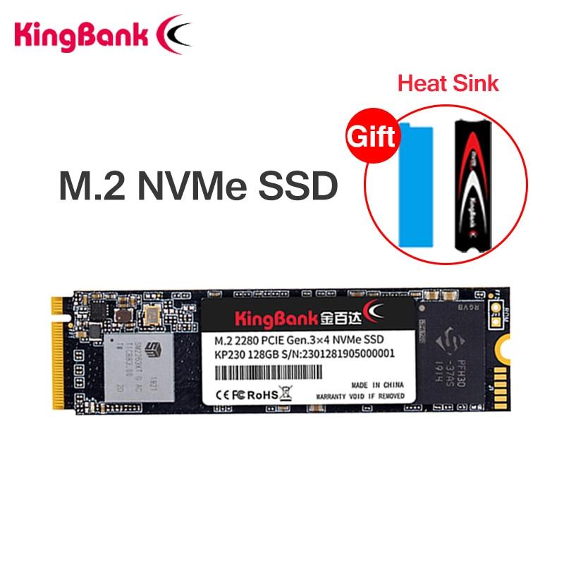 KingBank SSD m2 NVME SSD 1 ТБ 512 ГБ 256 ГБ 128 M.2 SSD PCIE nvme Внутренний твердотельный жесткий диск для ноутбука Настольный MSI Asrock