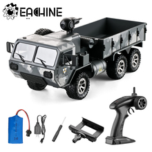 Eachine EAT01 1/16 2.4G 6WD RC Car With 720P Camera Proportional Control US Army Military Off Road Rock Crawler Truck RTR