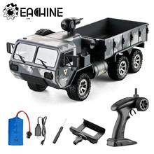 Eachine EAT01 1/16 2,4G 6WD RC Auto Mit 720P Kamera Proportional Control UNS Armee Military Road Rock crawler Lkw RTR