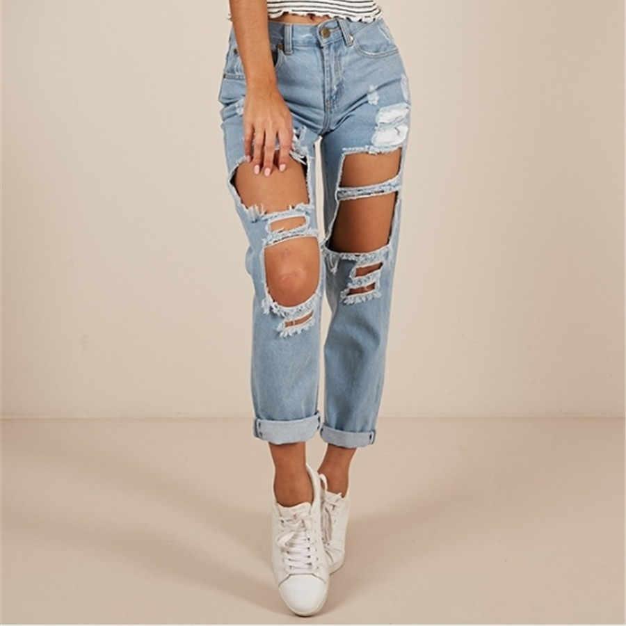 Verano Vaqueros Pantalones Vaqueros De Estilo Boyfriend Para Mujer Moda Vintage Alta Cintura Jeans Casual Pantalones Mujer Vaqueros Pantalones Vaqueros Aliexpress