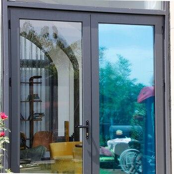 Sunice Blue&Silver One Way Mirrored Reflective window film Privacy Self Adhesive DIY Solar Tint Heat Control Anti-UV Home Decor