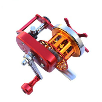3:1 Speed Ratio Automatic Alignment Fish Line Wheel Full Metal Raft Vessel Fly Wedkarstwo Coil 5BB Hand Reel Carretilha De Pesca