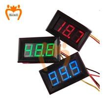0,56 дюйм DC Power Meter DC 0-200V Digital Voltmeter Voltimetro LED Volt Meter Voltage Tester Doctor Detector 6V 12V 24V 110V