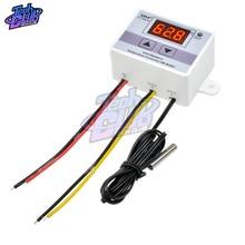 Controlador Digital de temperatura 24V DC 12V 110V 220V AC 20 a termostato termómetro Control de temperatura para incubadora de acuario