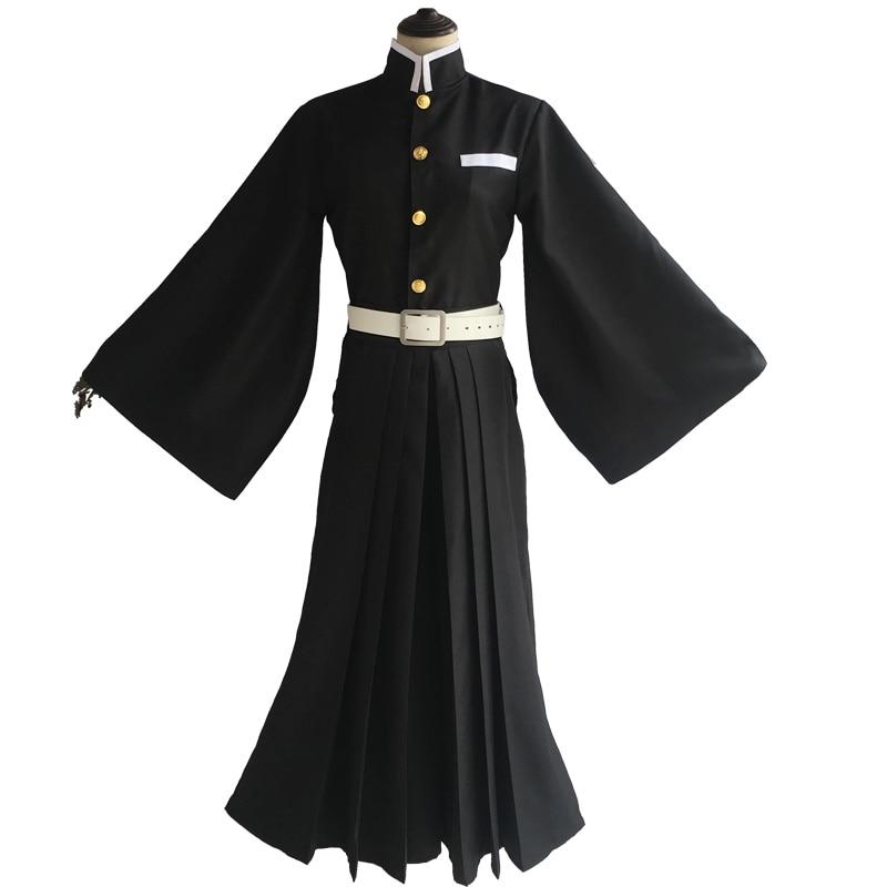 Аниме комикс демон Slayer: Kimetsu no Yaiba Косплей костюмы Tokitou Muichirou Косплей Костюм мужской кимоно косплей одежда Униформа - Цвет: Costume