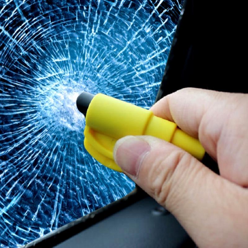 Multi-function Auto Car Window Glasses Breaker Mini Safety Hammer Emergency Seat Belt Cutter Rescue Life-saving Escape Tool