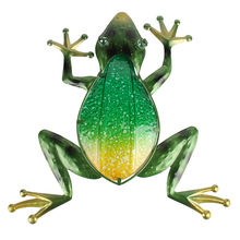 Get more info on the Liffy Frog Wall Art for Christmas Garden Decoration Animals and Outdoor Pond Decoration Statues Sculptures for Miniature Garden