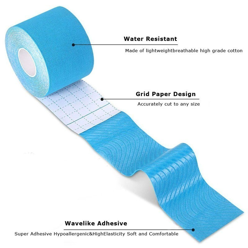REXCHI-Elastic-Tape-Kinesiology-Athletic-Recovery-Kneepad-Sports-Safety-Muscle-Pain-Relief-Knee-Pads-Support-Gym