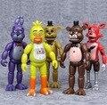 Набор «пять ночей у Фредди», ПВХ экшн-фигурки FNAF, Бонни, Фокси, Фредди, игрушки 5 фазбер, медведь, кукла, детские игрушки для рождественского п...