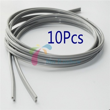 10/Pcs Dental Clinic Tube Hose Cable For 2 Hole Standard Foot Control Pedal Spray Syringe Dental Supples
