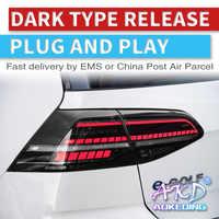 Car LED Tail Light Taillight For Nissan X-trail T32 2014 - 2018 Rear  Running Light + Brake Light + Reverse + Turn Signal Light