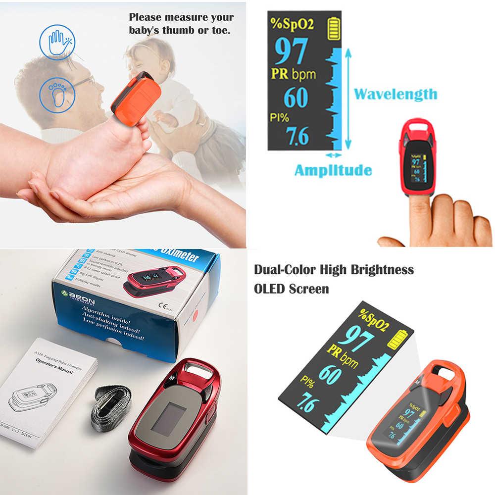 デジタル医療指先パルスオキシメータの血中酸素飽和度計指 SPO2 pr モニター日本チップ米国 fda 認証